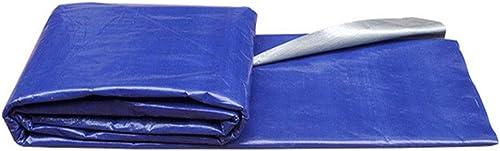 YAGEER Zhangpeng Bache De Prougeection pour Tente en Toile Plastique Bleu