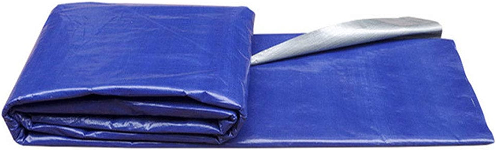 WHYDIANPU Tarpaulin Abat-Jour en Tissu Bleu argenté Tissu gris Bleu Tissu imperméable Tissu imperméable en Plastique Bleu imperméable Various Tailles
