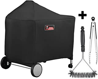 Kingkong 7152 Grill Cover for Weber Performer Charcoal Grills, 22-Inch (Compared to Weber..