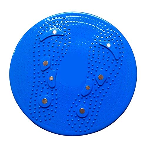 JZCXXJ Yoga Sport Fitness Balance Board Wobble Waist Twisting Fitness Body Exercise Rotating Sports Magnetic Massage Plate Twist Boards Blue