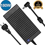 180W ASUS Chargeur,19V 9.5A 180W Asus Rog Chargeur d'alimentation pour Asus G55 G55VW G46VW G53SX G70 G75 A53 G750JM...