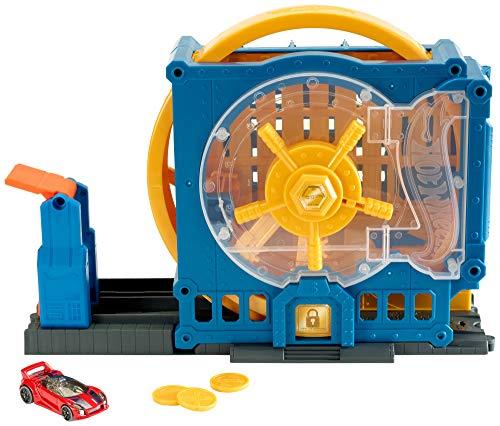 Hot Wheels GBF96 - Super-Bankeinbruch Spielset, Spielzeug ab 4 Jahren