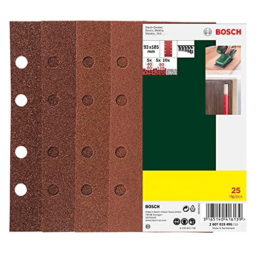 Bosch -   25tlg. Schleifblatt