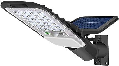 LEDMOMO 1 conjunto de luz solar com sensor de movimento, luzes de parede alimentadas por energia solar, controle remoto, l...