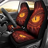 Fundas de asiento para coche, maletín de polvo actualizado, juego de 2 fundas para asientos de coche, se pueden utilizar durante todo el año, color blanco, talla única