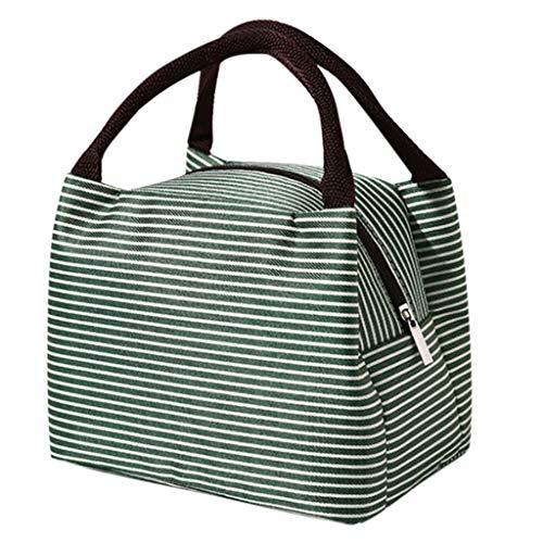 LianMengMVP Kühltasche Lunch Tasche Lunch Bag Picknicktasche Thermotasche Erwachsener Mittagessen Tasche Isoliertasche Wasserdicht für Büro Arbeit Outdoor Camping Reisen Wasserdicht Faltbar