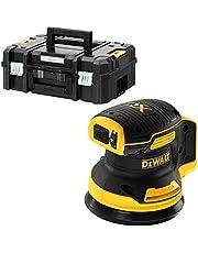 Dewalt DCW210NT-XJ Batteri-Excenterslipare, 18 V, Svart, Gul