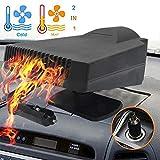 Car Heater - MASO 2 in 1 Portable 200W 12V High Power Fast Heating & Cooling Fan Defrost Defogger, for Automobile Windscreen Defog & Keeping Warm