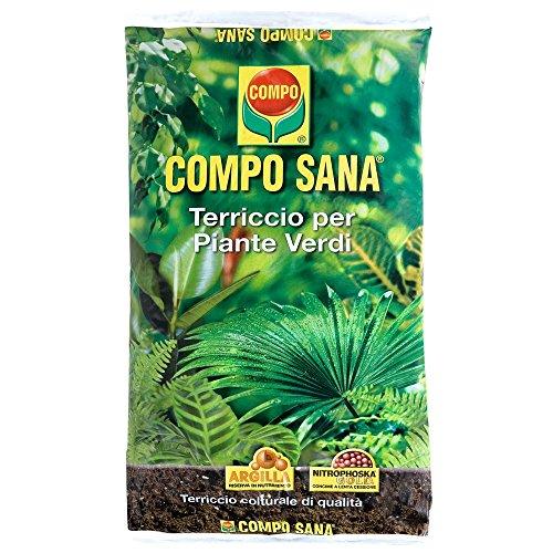Compo Sana Blumenerde für Grünpflanzen Beutel mit 20 l