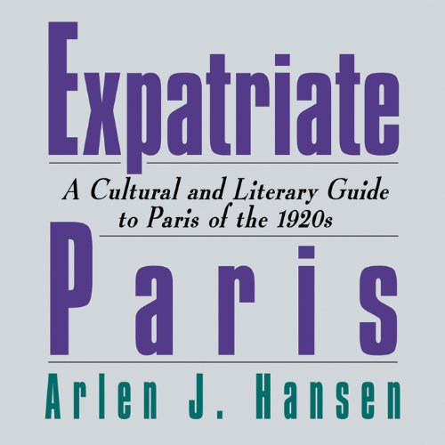 Expatriate Paris audiobook cover art
