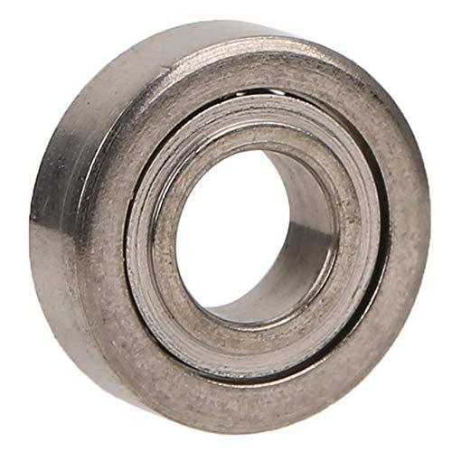 Drfeify Rodamiento de Bolitas del Coche de 8PCS RC Piezas de Actualización de Metal de 3 x 7 x 2 mm Compatible para WLtoys 1/28 K969 K989 P929 Coche de Control Remoto