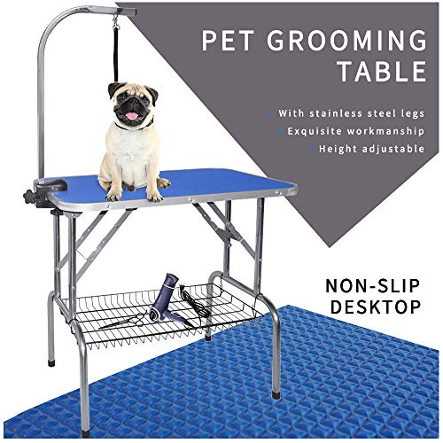 LEIBOU Pet Dog Grooming Table