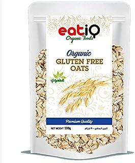 EATIQ ORGANIC GLUTEN FREE OATS 500GM