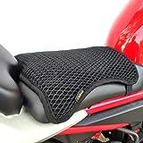 Cekell Cubierta fresca del asiento de la motocicleta de secado rápido del verano, cubierta protectora del asiento de la malla de la motocicleta antideslizante para el sol