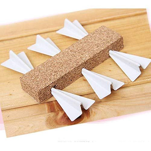 6PCS Creative Airplane pin, Paper Airplane pin Metal Thumbtacks Creative Decorative Pins for Corkboard Bulletin Board Decorative