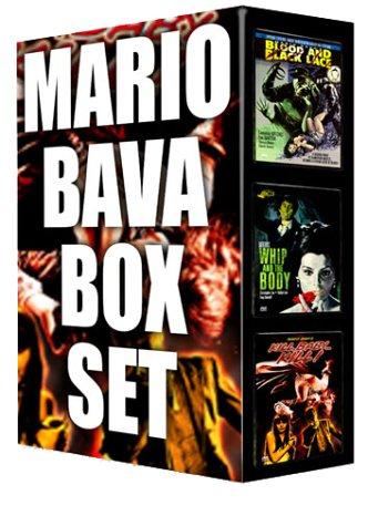 Mario Bava Box Set: Blood And Black Lace/ Kill Baby Kill/ Whip And The Body