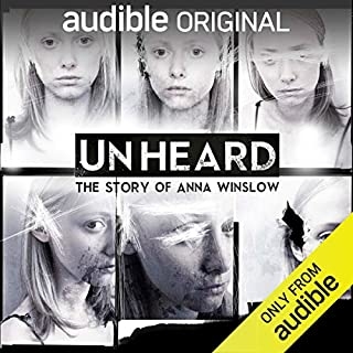 Unheard: The Story of Anna Winslow audiobook cover art