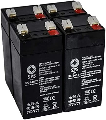 Max 43% OFF SPS Brand 4V 4.5Ah New products world's highest quality popular Replacement Battery PE4V45F2 GS for Portalac