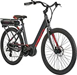 """IZIP E3 Vibe Plus 26"""" Women's Step-Thru Leisure Electric Bike with 350W Mid-Motor and 48V, 417Wh Lithium Battery, 2018 Model"""