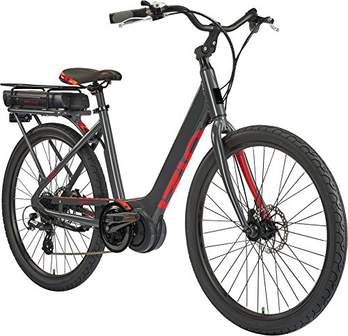 IZIP E3 Vibe Plus 26' Women's Step-Thru Leisure Electric Bike with 350W Mid-Motor and 48V, 417Wh Lithium Battery, 2018 Model