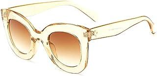 Butterfly Sunglasses Semi Cat Eye Glasses Plastic Frame...