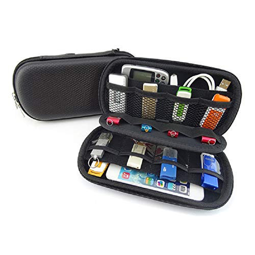 LinZec Gh1309 multifunctionele digitale opslagzak, EVA geheugenkaart Bank kaart Sd kaartpakket, U Disk Headset Mobiele telefoon digitale accessoires beschermhoes