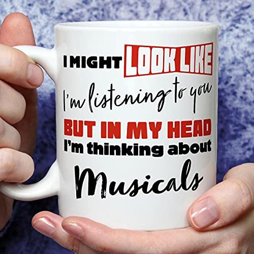 Musicals Lover Gift, Musicals Gifts, Musicals Presents, Funny Musicals Gifts, Musicals Theme, Musicals Fan Mug