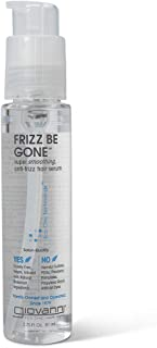 Giovanni Eco Chic Frizz Be Gone - Anti Frizz Smoothing Hair Serum, 2.75 Ounce (Pack of 1)