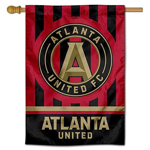WinCraft Atlanta United Football Club Double Sided Banner House Flag