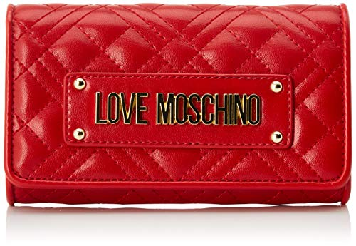 Love Moschino Damen Jc5623pp0a Geldbeutel, Rot (Red), 4x10x17 Centimeters