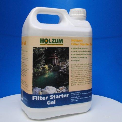 Holzum Filterstarter Bakterien 2500 ml/2,2 kg Gel