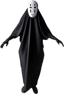 Fancy No-Face Anime Spirited Kaonashi Cosplay Costume