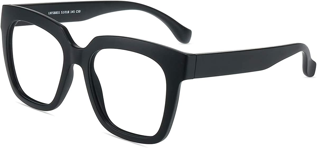 Firmoo Gafas Luz Azul para Mujer Hombre, Gafas Filtro Antifatiga Anti-luz Azul y contra UV400 Ordenador de Gafas Montura TR90 para Protección los Ojos