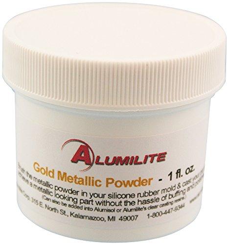 ALUMILITE CORPORATION 32005 Metallic-Pulver, 28 ml, goldfarben, gold, Einheitsgröße