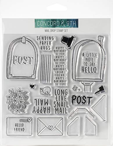 Concord & 9th Clear Stamps 6'X6'-Mail Drop