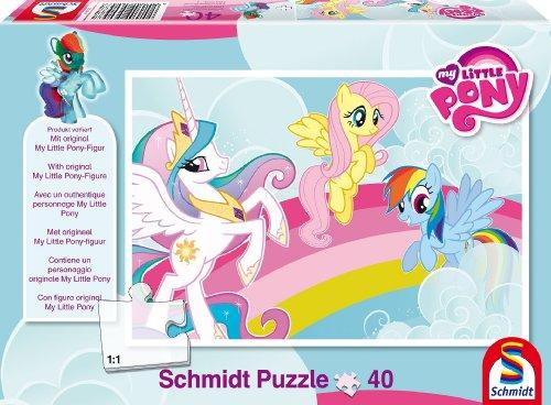 Schmidt Spiele 56057 - Hasbro, My little Pony, Drei Freunde, 40 Teile