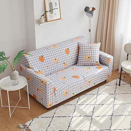 NOBCE Juego de Fundas de sofá elásticas de algodón Fundas de sofá universales para Sala de Estar, Mascotas, sillón, sofá de Esquina, Funda para sofá de Esquina 90-140CM