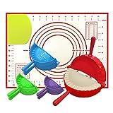 Best Empanada Makers - Dumpling Maker, 4 Pack Empanada Maker Press Extra Review