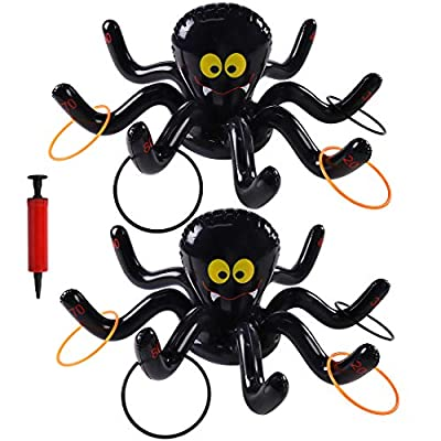 Max Fun Halloween Inflatable Spiders Ring Toss ...
