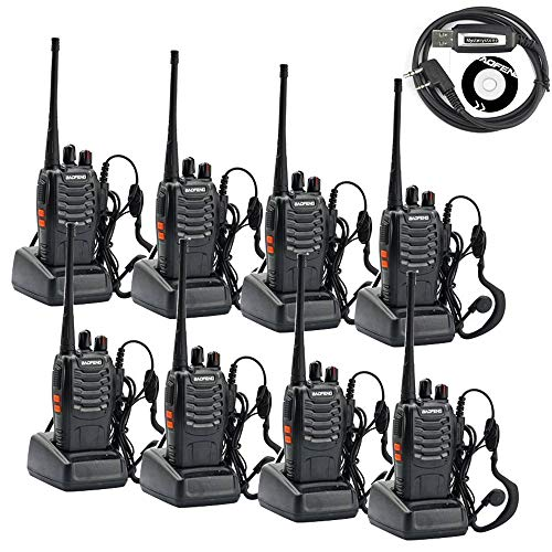 BAOFENG BF-888S Two Way Radio Pack of 8