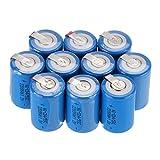 Baterías recargables Anmas Box NiCd 4/5, SudC, 1,2V, 2200mAh, con pestaña, en paquete de 6, 10, 12 o 15 piezas