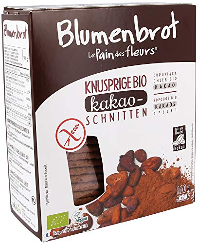 "Priméal Knäckebrot ""Blumenbrot"" mit Kakao (160 g) - Bio"