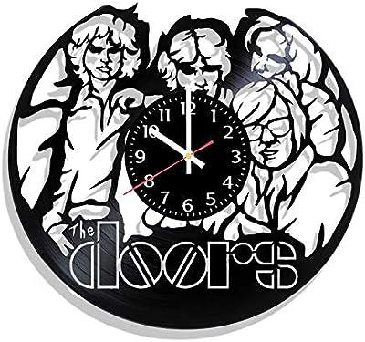 RainbowClocks The Doors Vinyl Wall Clock Jim Morrison Record Clock The Doors Clock Jim Morrison Clock Vinyl Wall Clock Gift For Man Jim Morrison Gift Vinyl Record Wall Clock The Doors Gift For Dad