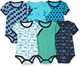 Care 550203 Body - Lot de 6 - Bébé garçon - Bleu (Dark Navy 778) - 86