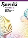 Suzuki Viola School - Volume 4: Piano Accompaniment (Viola)