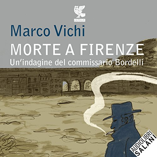 Morte a Firenze audiobook cover art