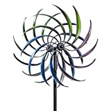 Bits and Pieces - The Original Rainbow Wind Spinner - Decorative Lawn Ornament...