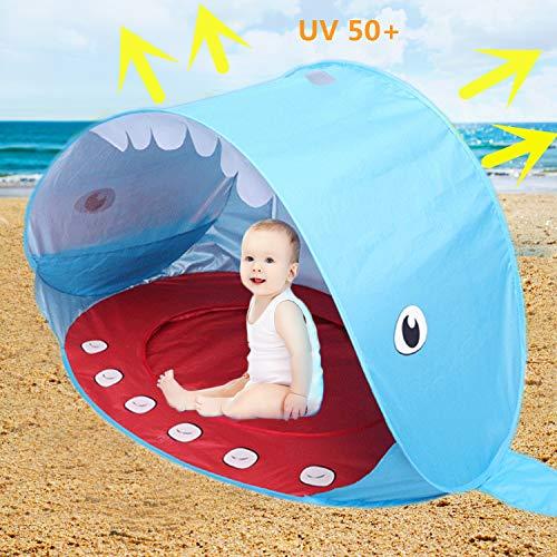 Sweeho Tienda Playa Bebés, Anti Solar UV 50+ Tienda Infantil Pop-up Parasol de Campaña con Piscina...