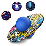 Pogo Ball for Kids&Adults Up to 200lb, Balance Coordination Hop Ball Jump Trick Board for Body Fitness, Stress Relief Fidget Toys Pop Ball Trainer with Cool Fun Challenging Toys for Boys Girls