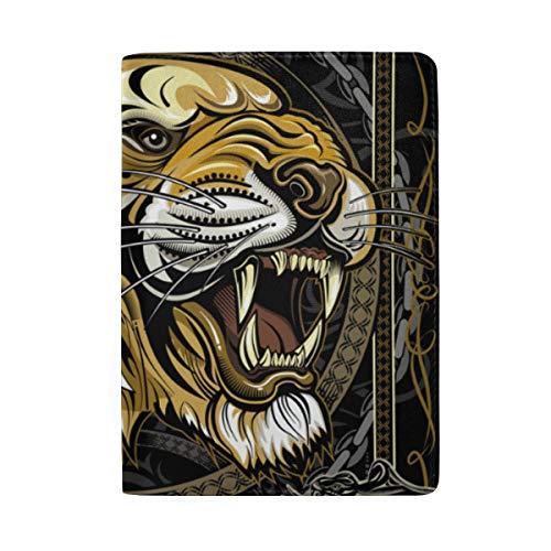 Tiger - Funda de Piel para Pasaporte, diseño de Tigre